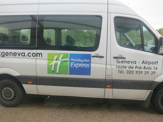 Holiday Inn Express Geneva Airport: shuttle