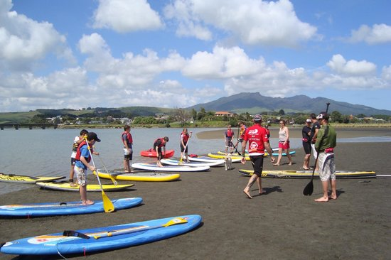 Raglan Paddleboarding : school fun