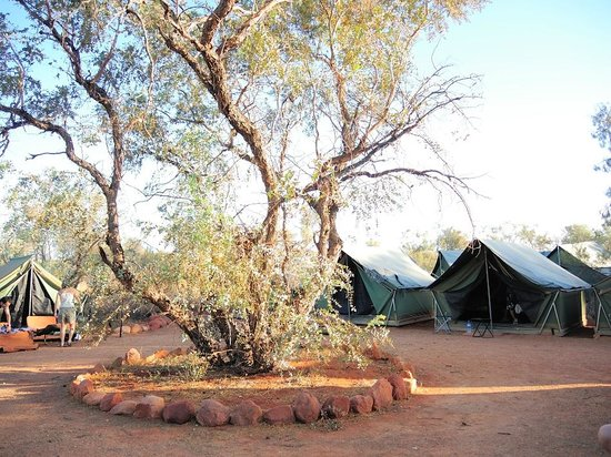 ‪‪Kings Creek Station‬: On-site tents (2-person) at King's Creek Station, NT‬