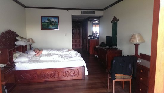 Angkor Paradise Hotel: Paradise Club room top floor.