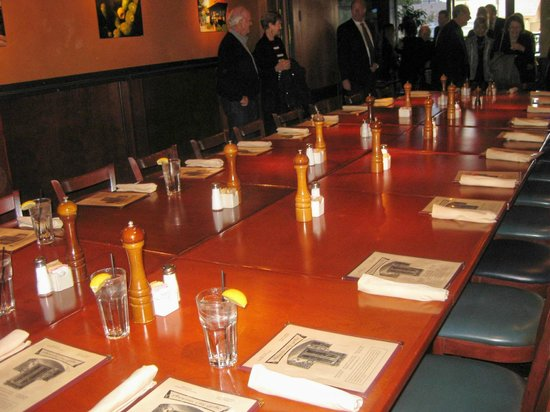 Phoenix City Grille: Private Dining Room Setting