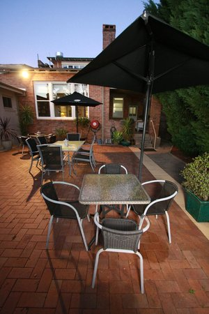 Wingham, Australia: Rear Courtyard