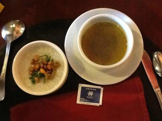 Sanur Paradise Plaza Hotel: Local porridge for breakfast