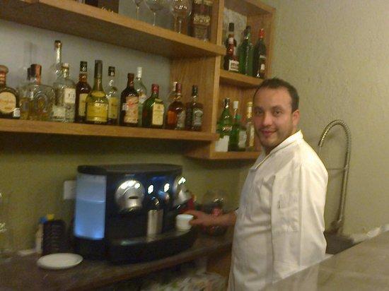 Cinco Cocina Urbana : el Chef Gilberto