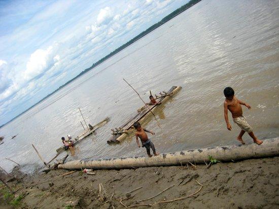 Zacambu Rainforest Lodge: The Amazon down from Zacambu Natural Reserve Lodge