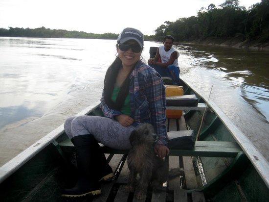Zacambu Rainforest Lodge: Peru side of river @ Zacambu Natural Reserve Lodge
