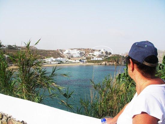 Akrotiraki: Perfect location