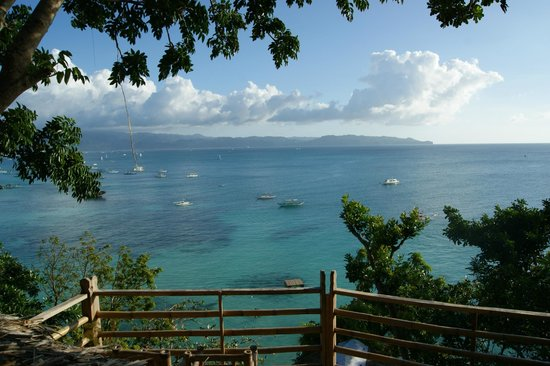 Spider House Resort: View from sup A
