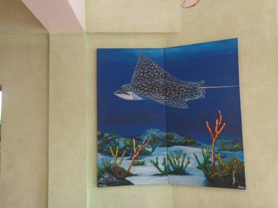 La Conchita del Caribe : wall paintings