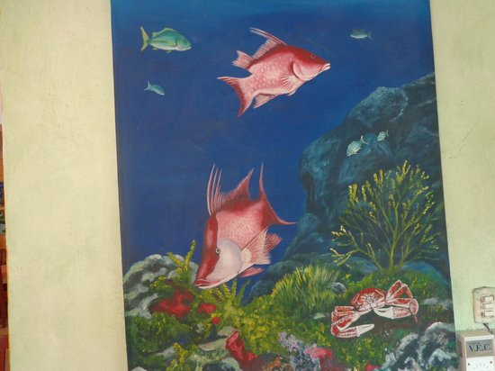 La Conchita del Caribe : wall paintings
