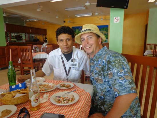 La Conchita del Caribe : My good Friend Angel!  the best taxi driver in Cozumel!