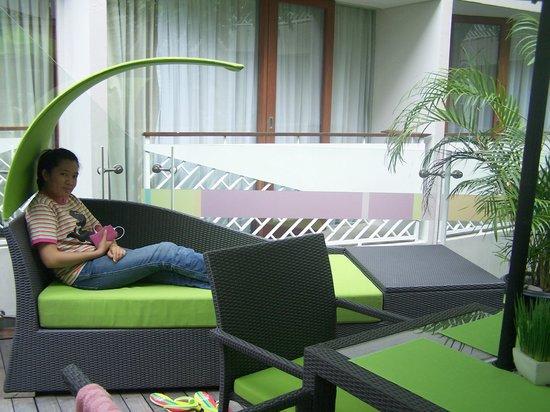 Ibis Styles Bali Kuta Circle: area kolam renang