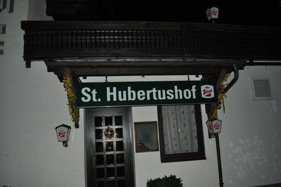 Hotel St. Hubertushof: вход