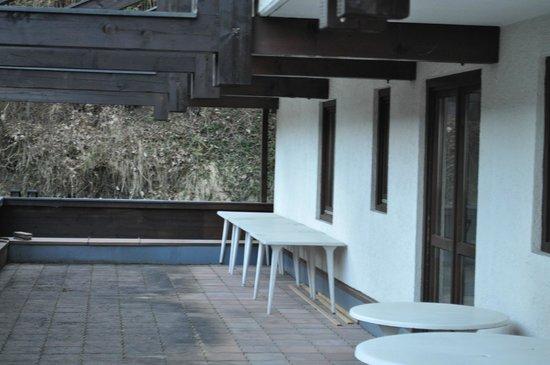 Hotel St. Hubertushof: балкон