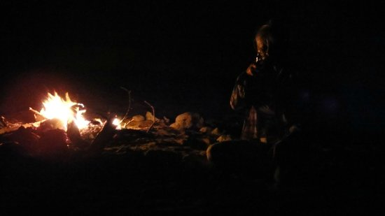 Desert Retreat Camp: Bonfire