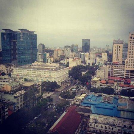 Sedona Suites Ho Chi Minh City : Ho Chi Minh from my window
