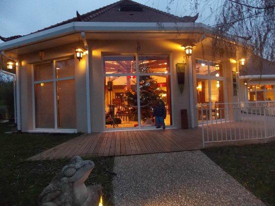 Salle du restaurant picture of les jardins de beauval for Hotel jardin de beauval