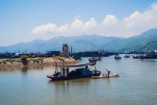 Shantou Nan'ao Island National Forest Park: fisherman's village