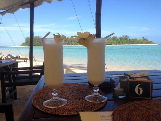 Sandals Restaurant & Barefoot Bar: Pina Colada