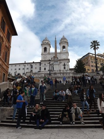 Driver Guide Service: Spanish Steps