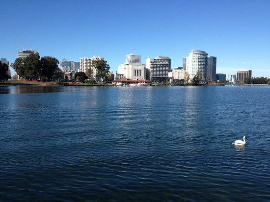 Lake Merritt: View from the Methodist Church