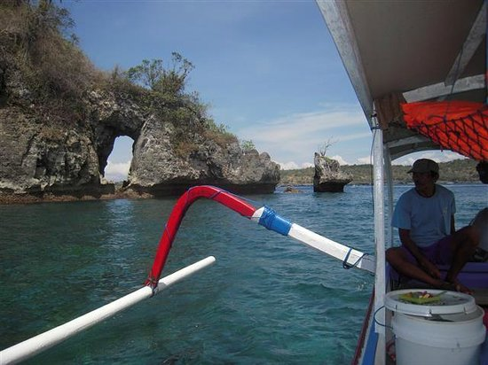 Alam Nusa Huts and Spa: Snorkelling trip