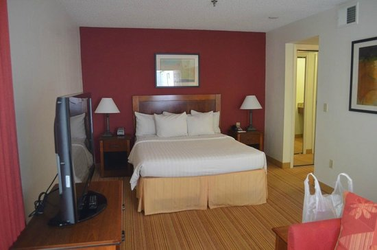 Residence Inn Las Vegas Convention Center: Queen Size Bed