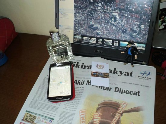 PRIME PARK Hotel Bandung: Room and KeyCard