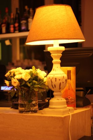 Le Lanterne: Интерьер ресторана