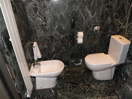 Renaissance Barcelona Hotel: RM 706 Toilet and Urinal