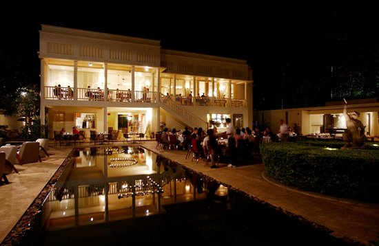 FCC Angkor: Night View of Restaurant