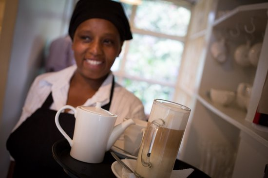 Tin Roof Cafe: Head chef, Caroline Ndungu