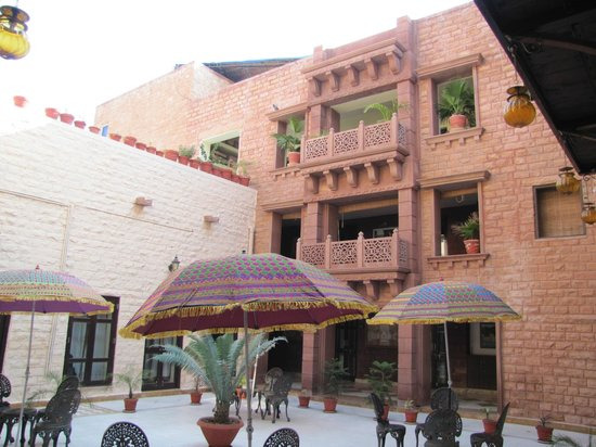 The Marwar Hotel & Gardens : Hotel building