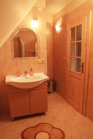 Hotel Frydl: Bathroom