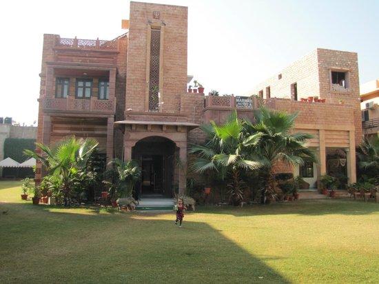 The Marwar Hotel & Gardens : Complete hotel