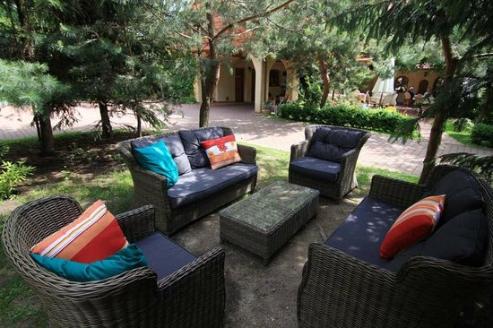Hotel Frydl: A seating area
