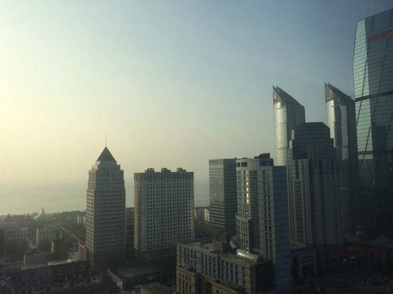 Shangri-La Hotel Qingdao: View from room 1864