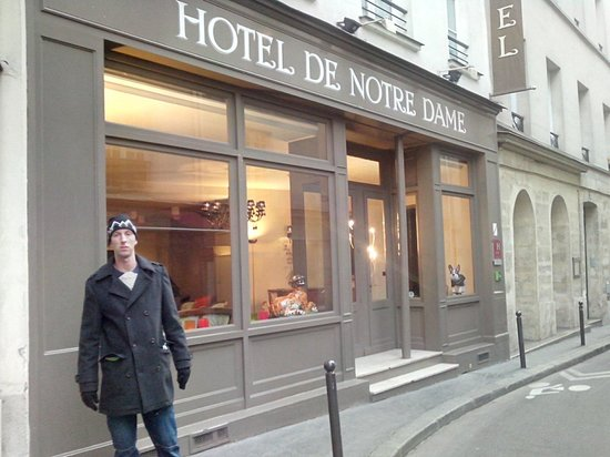 "Hotel de Notre Dame ""Maitre Albert"": outside"