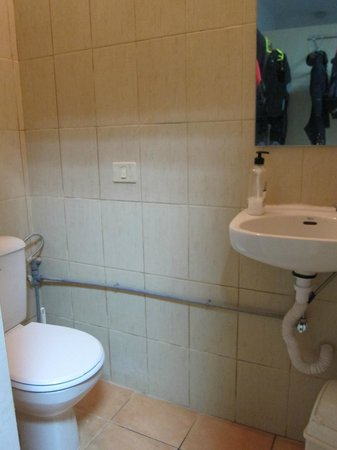 La Morena Diving: toilettes