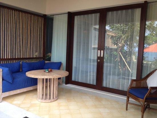 Sudamala Suites & Villas Senggigi : The patio