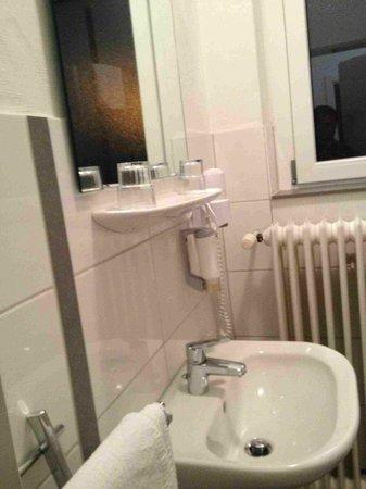 Burghotel Lorrach: bagno