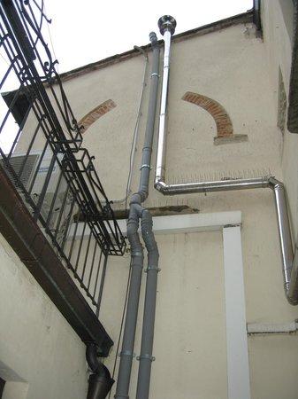 Residence Manassei: вид из окна
