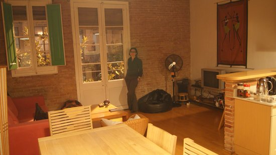 Nisia Bed & Breakfast : The living-room area