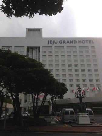 Maison Glad Jeju: 外から見たホテル!