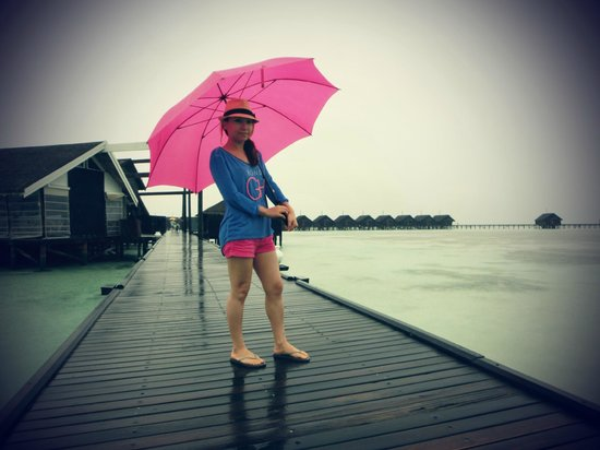 LUX* South Ari Atoll: pinky :)