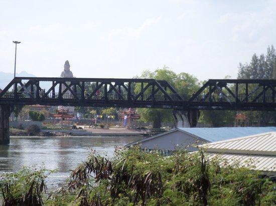 River Kwai Bridge Resort : view from breakfast area.