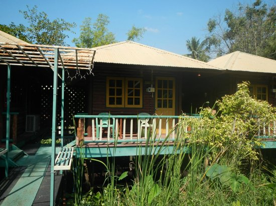 Sam's Guesthouse: View from the front of the bungalow