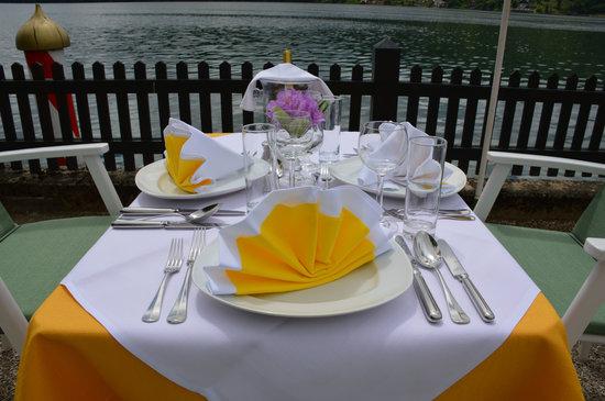 Hotel Restaurant See-Villa: Kulinarium am See