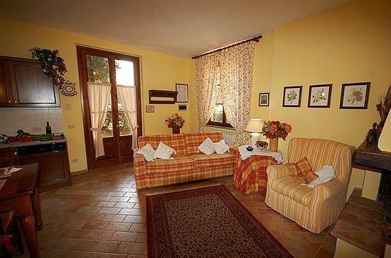 Tenuta La Cipresseta: panoramica soggiorno