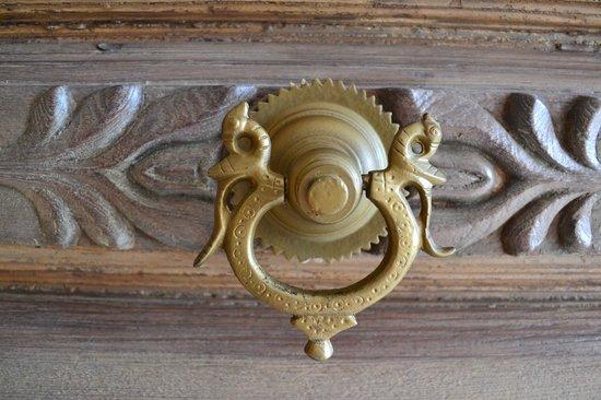 Klosterhotel Marienhoeh : Un dettaglio della porta di ingresso